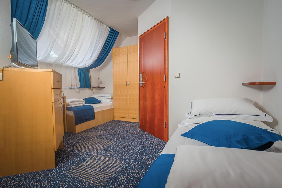 Soba s twin ležiščem brez balkona